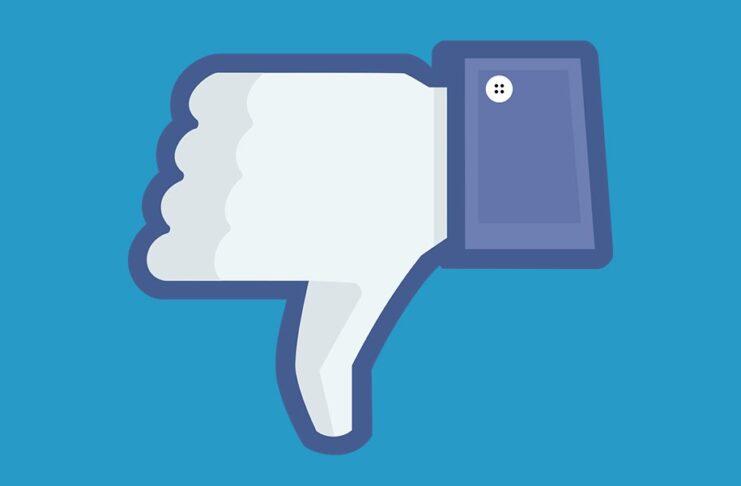 Facebook DownVote Button